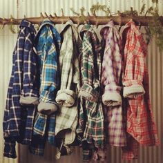 love me some flannel shirts