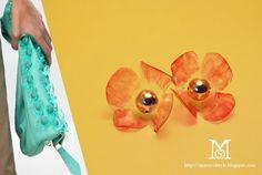 diy painted plastic earrings inspired by Burberry, diy jwelry