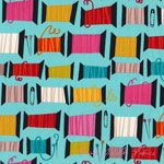 Alexander Henry Nicole's Prints Cool Spool Light Blue [AH-DE7890-A] - $7.95 : Pink Chalk Fabrics is your online source for modern quilting cottons and sewing patterns., Cloth, Pattern + Tool for Modern Sewists