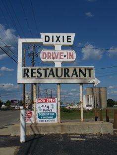 Dixie Drive-In Restaurant...... London, Ohio