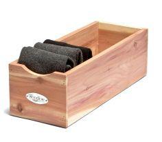 Bespoke Post Cedar Socks Box