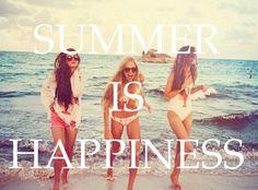 Summer = Happiness