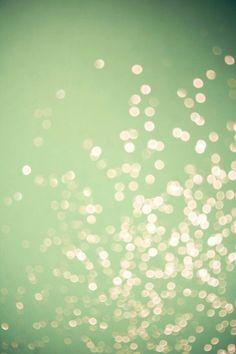mint + sparkle