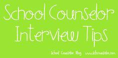 School Counselor Blog: School Counselor Interview Tips