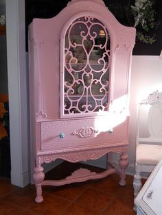 a china cabinet that brings romance and old world charm back
