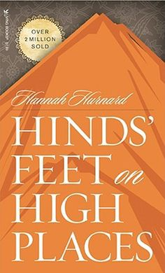 """Hinds"""" Feet on High Places is a beautiful allegory of the Christian walk.  It is a very meaningful book that demonstrates progressive sanctification.  Betterworld Books has it for $3.98 used and their books ALWAYS ship free! http://media-cache3.pinterest.com/upload/187110559487927208_wtWW3rNX_f.jpg dme2011 books worth reading"""