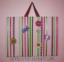 Ribbon board for little girls bows....