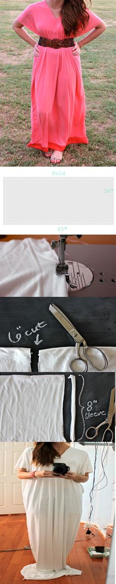 How To Make а #Maxi #Dress, #diy