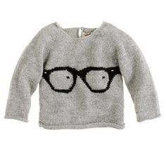 Baby Glasses Sweater by Oeuf
