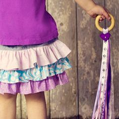 Cute gift for child dancers.
