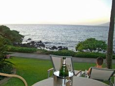 Wailea Beach Marriott in Maui, Hawaii....our view exactly from our room!