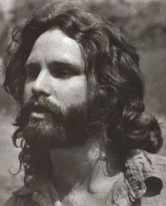 Jim Morrison....before beards were cool
