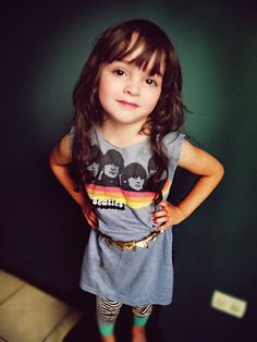 vintage tee dress little girls, little girl outfits, kids fashion, dresses, future babies, old shirts, el invierno, babies clothes, photography kids