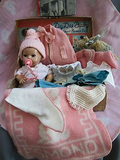 "DY-DEE BABY (10"" WITH CLOTHING AND SUITCASE"