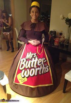 Mrs. Butterworth - DIY Halloween Costume Idea