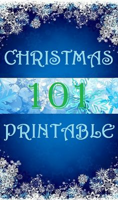 101 free Christmas printables, cupcake toppers, gift tags, and MORE -  cupcakepedia