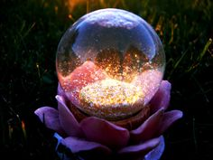 locked within the crystal ball