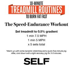 10-Minute Treadmill