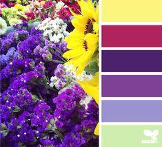 Flower market palette **