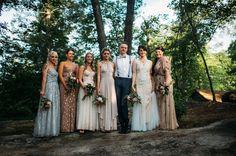 maxi dress bridesmaids