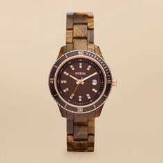 WANT!   FOSSIL® Watch Collections Stella Watches:Women Stella Mini Resin Watch ES3092