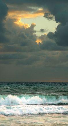 Beach at sunrise Jupiters, Florida