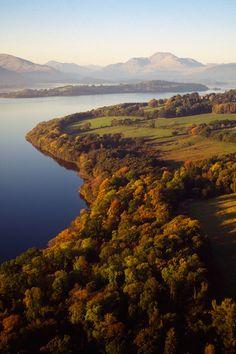 Parque Nacional de los Trossachs (Escocia)