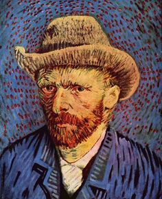 Self-Portrait, 1887-1888 Vincent Van Gogh