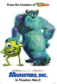 2001 Monsters, Inc.
