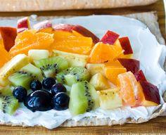 Vegan fruit wrap #vegan