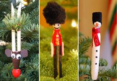 Make a Clothespin Angel Ornament - Dollar Store Crafts