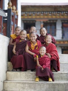 Bhutan, where Gross National Happiness is measured instead of Gross Domestic Product.