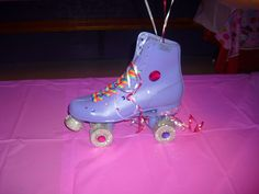great idea for skate party.  decorated by friend, Amanda