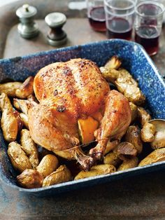 chicken recip, roast chicken, food, mapl roast