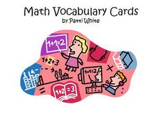 Math Vocabulary Words