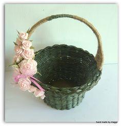 Hecho a mano por Maggii: Cestas de regalo con las rosas