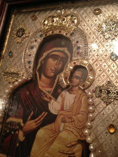 Theotokos Iveron Icon of Hawaii