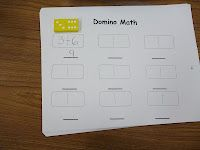 ... play this after children are successful with domino parking lot game