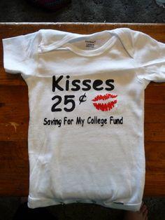Kisses Onesie