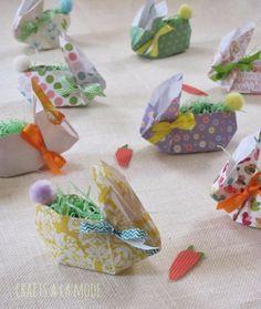 Crafts a la mode : Cuter than Cute Easter Paper Bunnies