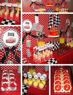disney cars birthday party theme