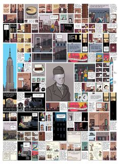 The ABSOLUTE master of the comic arts, Chris Ware.