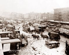 New York in the snow, 1920