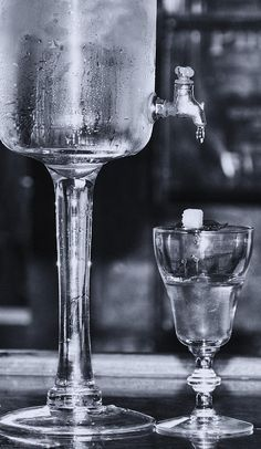 Absinthe photography by Kathleen K. Parker.