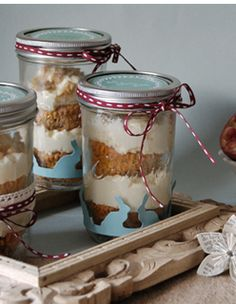 easter dessert in a jar recipe and printables the pretty blog