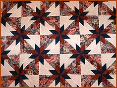 hunter's star quilt pattern | Hunter's Star Quilts