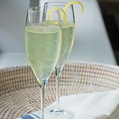 From home: make Lavender Honey French 75. Recipe included in The ...