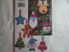 Butterick 4661 Christmas Tree Ornaments UNCUT Craft Pattern. $5.20, via Etsy.
