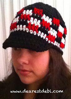 A hat for him *Free Crochet Pattern* By DearestDebi