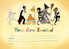 tags, invitations, boo halloween, belle